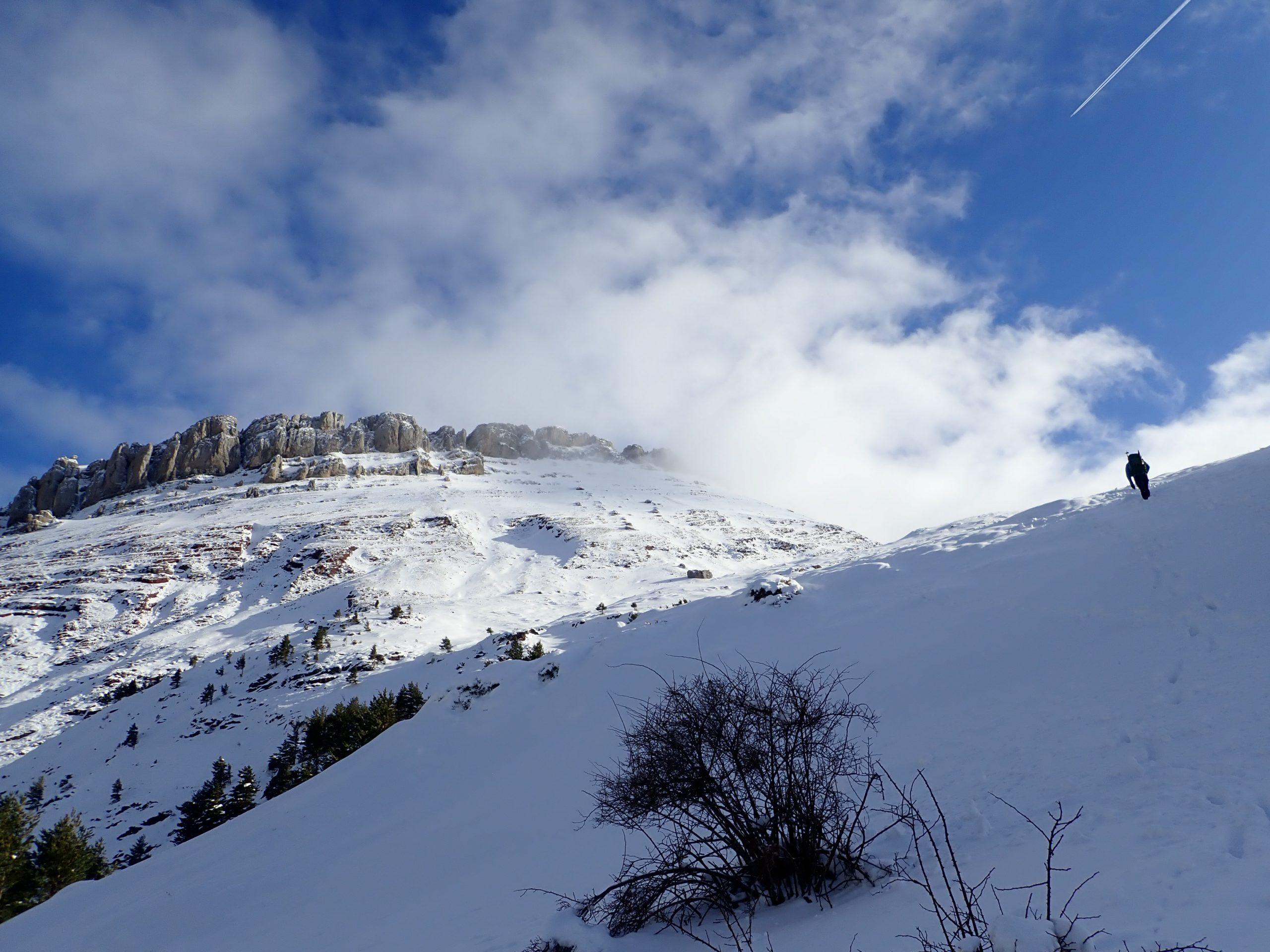 Febrero: subida Castillo de Acher